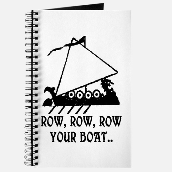 ROW, ROW, ROW YOUR BOAT Journal