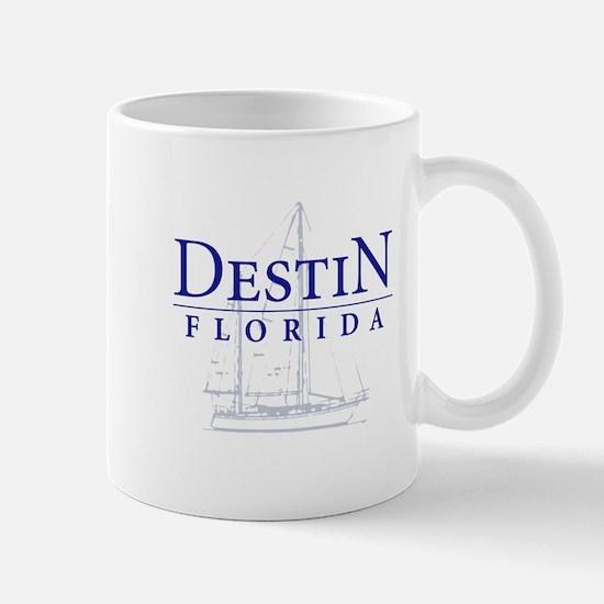 Destin Sailboat - Mug