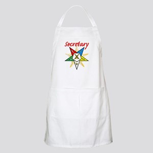 Eastern Star Secretary Items BBQ Apron