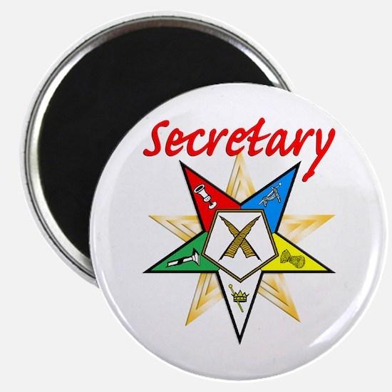 Eastern Star Secretary Items Magnet
