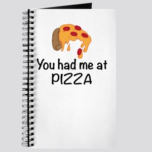 You Had Me At Pizza Journal