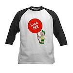 Lick Me Kids Baseball Jersey