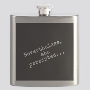 Nevertheless she persisted Flask