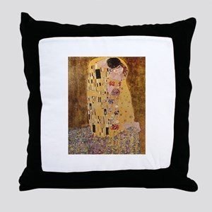Gustave Klimt Throw Pillow