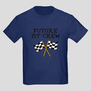 Future Pit Crew Kids Dark T-Shirt