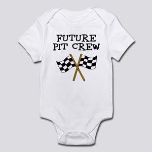Future Pit Crew Infant Bodysuit