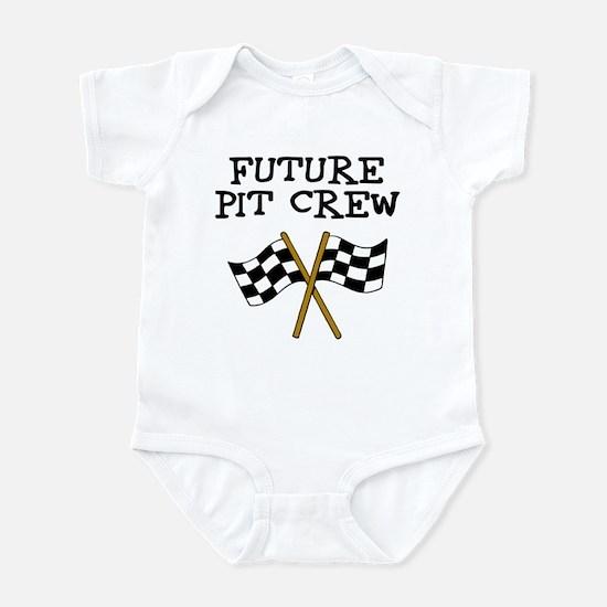 Future Pit Crew Infant Bodysuit