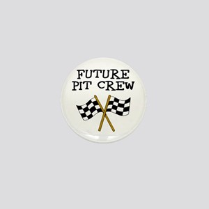 Future Pit Crew Mini Button