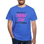 Obama Change Club Dark T-Shirt
