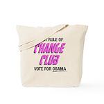 Obama Change Club Tote Bag