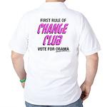 Obama Change Club Golf Shirt