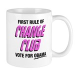 Obama Change Club Mug