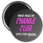 Obama Change Club Magnet