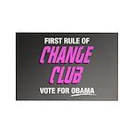 Obama Change Club Rectangle Magnet (100 pack)