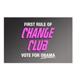 Obama Change Club Postcards (Package of 8)