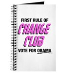 Obama Change Club Journal