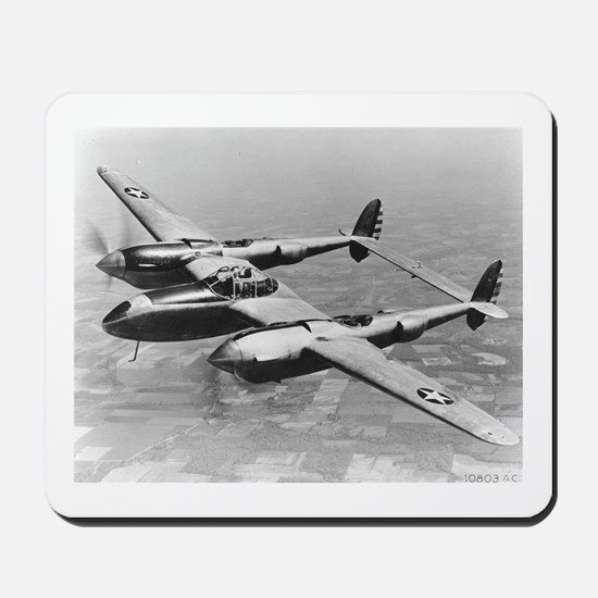 P-38 Lightning Mousepad
