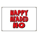 Nappy Headed Ho Red Design Banner