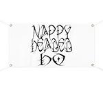 Nappy Headed Ho Tribal Design Banner