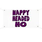 Nappy Headed Ho Purple Design Banner