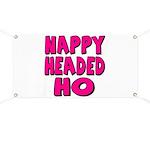 Nappy Headed Ho Pink Design Banner