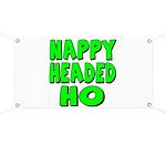Nappy Headed Ho Green Design Banner