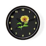 Sunflower Clocks Wall Clock