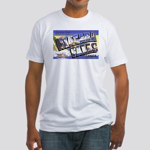 Niagara Falls Canada Fitted T-Shirt