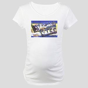 Niagara Falls Canada Maternity T-Shirt