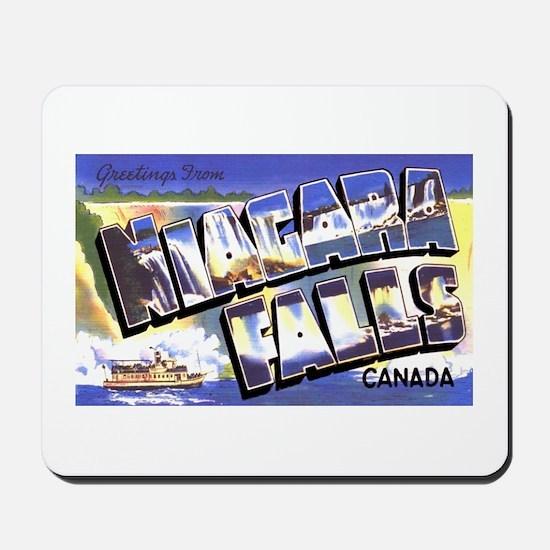 Niagara Falls Canada Mousepad