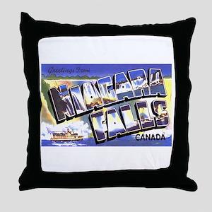 Niagara Falls Canada Throw Pillow