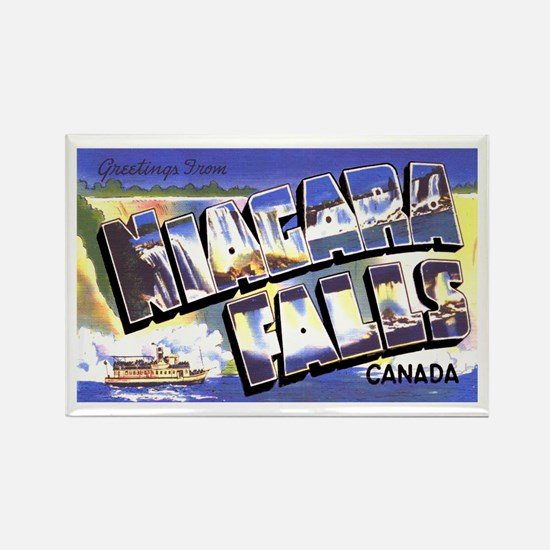 Niagara Falls Canada Rectangle Magnet