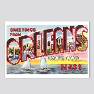 Orleans Cape Cod Massachusetts Postcards (Package