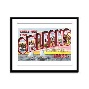 Orleans Cape Cod Massachusetts Framed Panel Print