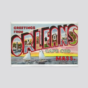 Orleans Cape Cod Massachusetts Rectangle Magnet