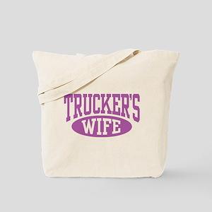 Trucker's Wife Tote Bag