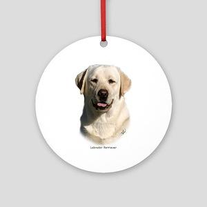Labrador Retriever 9Y383D-267 Ornament (Round)