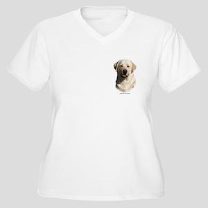 Labrador Retriever 9Y383D-267 Women's Plus Size V-