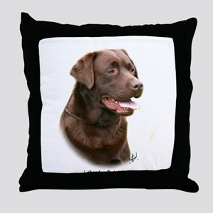 Labrador Retriever 9Y243D-004a Throw Pillow