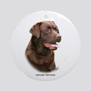 Labrador Retriever 9Y243D-004a Ornament (Round)