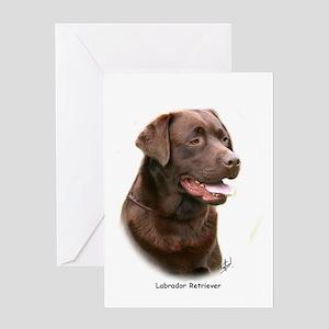 Labrador Retriever 9Y243D 004a Greeting Card