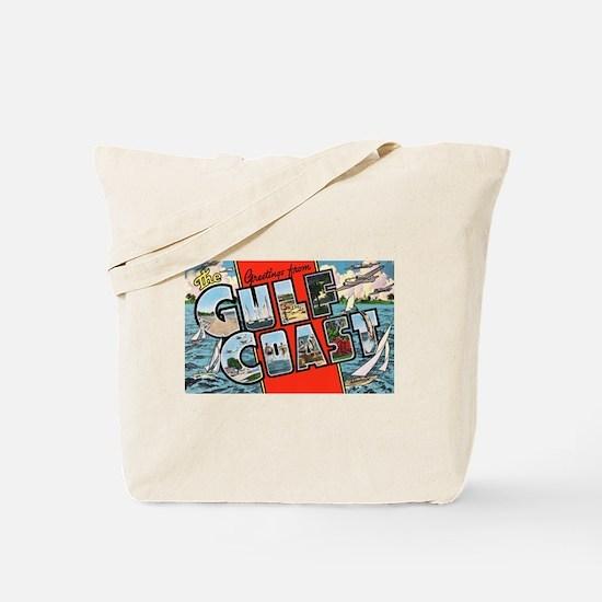 Gulf Coast Greetings Tote Bag