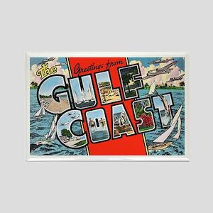 Gulf Coast Greetings Rectangle Magnet