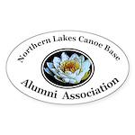 Alumni Association Oval Sticker (10 pk)
