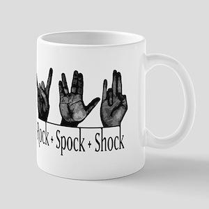 Rock Spock & Shock Mug