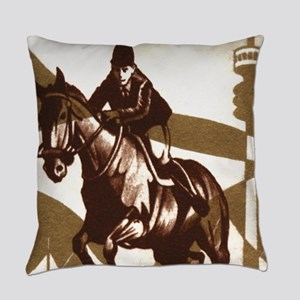 Show Jumping Everyday Pillow