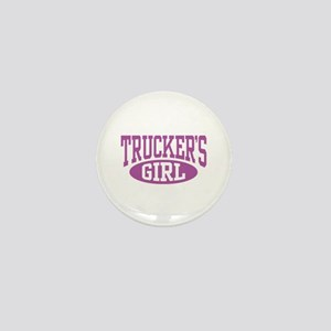 Trucker's Girl Mini Button