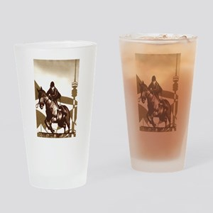 Show Jumping Drinking Glass