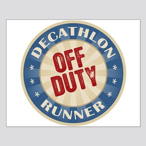 Off Duty Decathlon Runner Small Poster
