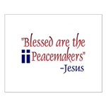 Small Poster - Blessed are the Peacemakers